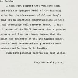 Letter: 1949 July 24