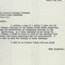 Letter: 1955 April 30