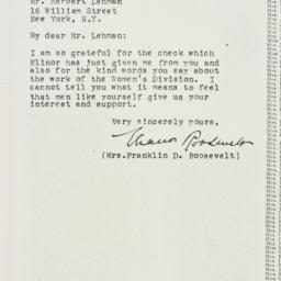 Letter: 1926 February 18
