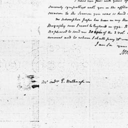 Document, 1798 August 17