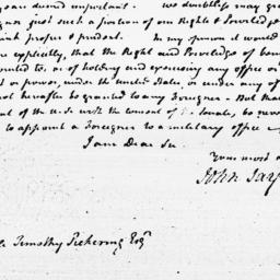Document, 1798 May 13