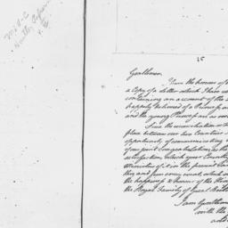 Document, 1783 August 12