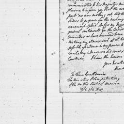 Document, 1784 April 09
