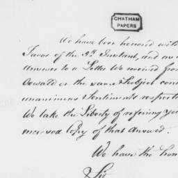 Document, 1782 November 06