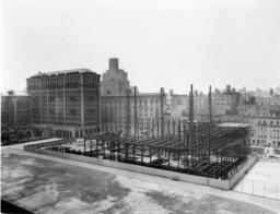 Butler Library Construction 3
