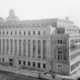 Butler Library Construction 29