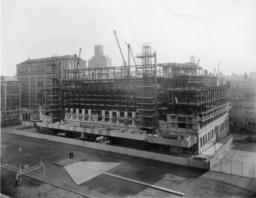 Butler Library Construction 17