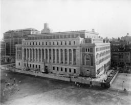 Butler Library Construction 28