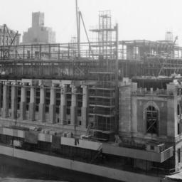 Butler Library Construction 19
