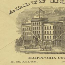 Allyn House. Envelope