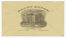 Allyn House. Envelope - Recto