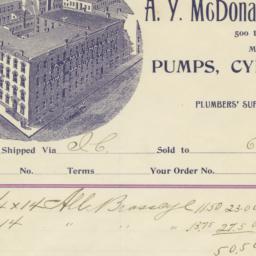 A.Y. McDonald & Morrison Mf...