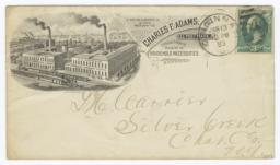 Charles F. Adams. Envelope - Recto