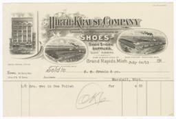 Hirth-Kraus Company. Bill - Recto