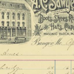 A. C. Sawyer & Co.. Bill