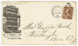 Wm. T. Shannon & Son. Envelope - Recto
