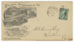 Walker, Stratman & Co.. Envelope - Recto