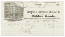 American Rubber Co.. Bill - Recto