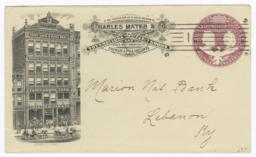 Charles Mayer & Co.. Envelope - Recto