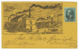 Atchison Foundry Works. Envelope - Recto
