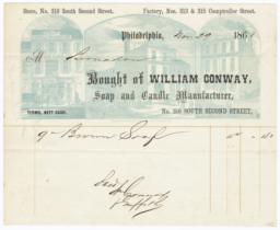 William Conway. Bill - Recto