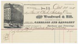Woodward & Hill. Bill - Recto