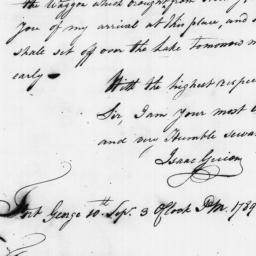 Document, 1789 September 10