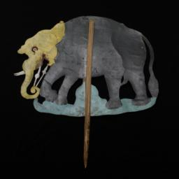 Elephant Rod Puppet
