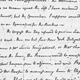 Document, 1775 December 23