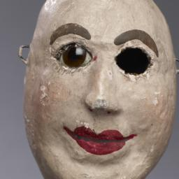 Bald Male Hand Puppet With ...