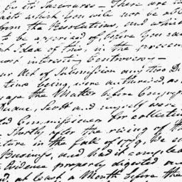 Document, 1781 November 27