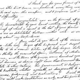 Document, 1821 March 31