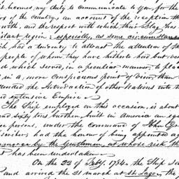 Document, 1785 May 19