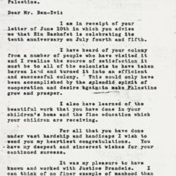 Letter: 1947 June 24