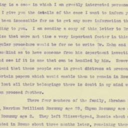 Letter: 1922 May 12