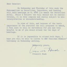 Letter: 1954 February 2
