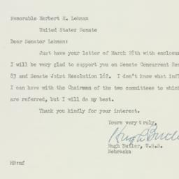 Letter: 1950 March 30