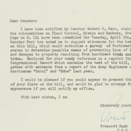 Letter: 1955 March 21
