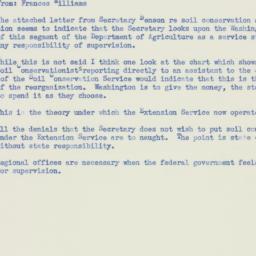 Memorandum: 1953 November 9