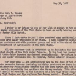 Letter: 1955 May 31