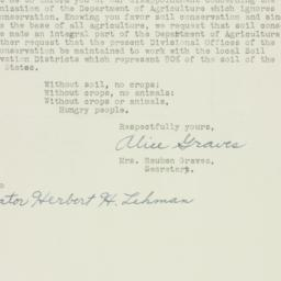Letter: 1953 October 5