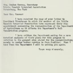 Letter: 1953 October 22