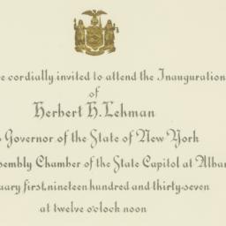 Invitation: 1937 January 1