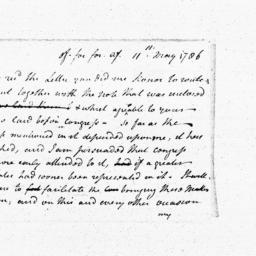 Document, 1786 May 11