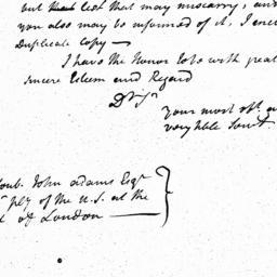 Document, 1785 November 01