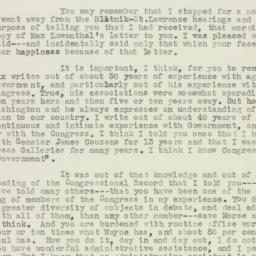 Letter: 1955 July 1