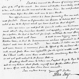 Document, 1796 June 08