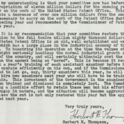 Letter: 1954 June 7