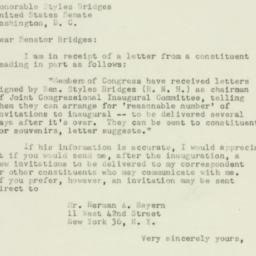 Letter: 1952 December 20