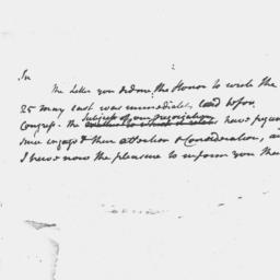Document, 1786 May n.d.